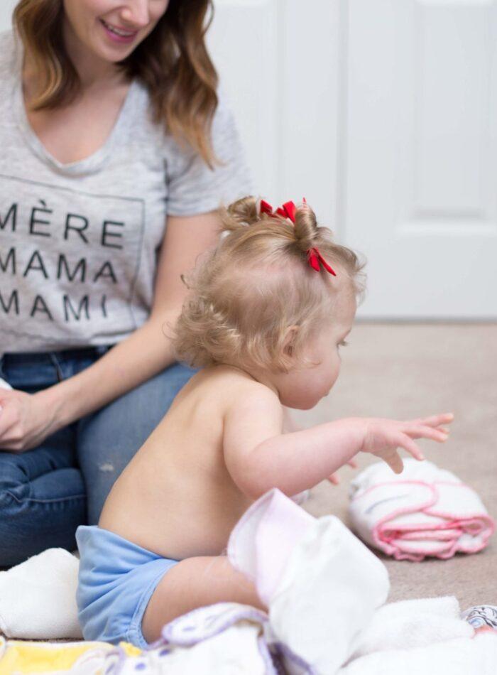 cloth diapers 101 | pros and cons | on allweareblog.com