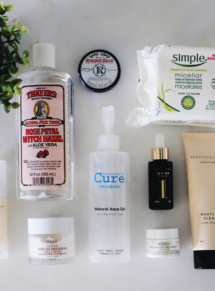 my skincare routine on allweareblog.com