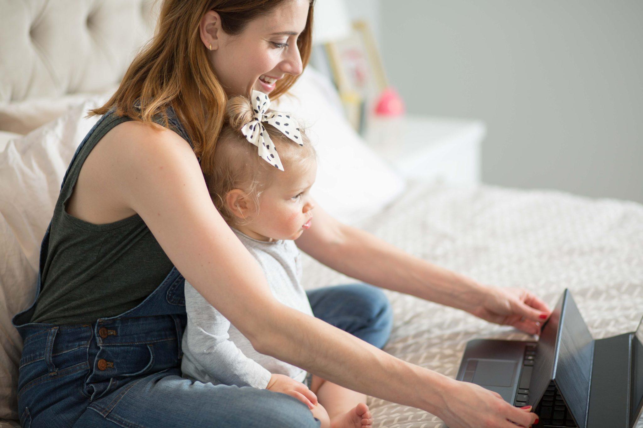 taking a break with kid lid on allweareblog.com