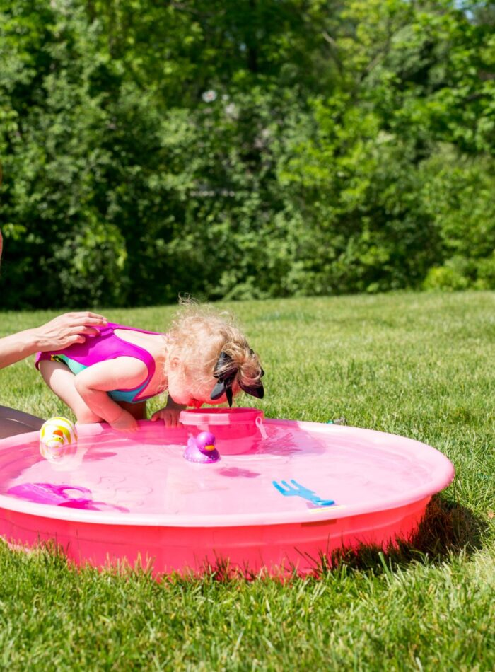 summer fun with a toddler featuring kingdom and state swim on allweareblog.com