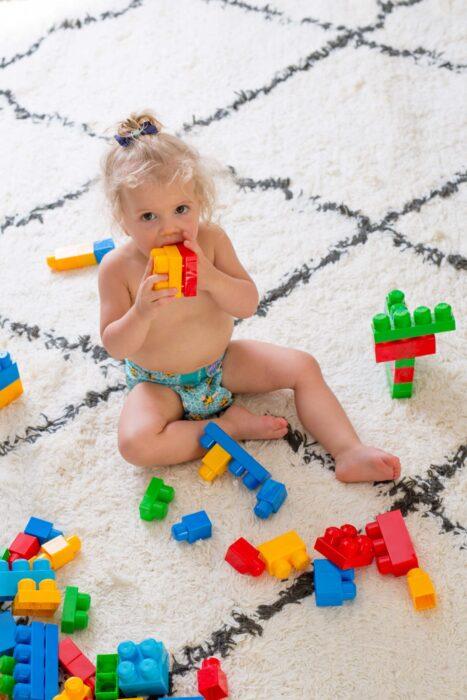 our favorite overnight cloth diaper with bambino mio on allweareblog.com