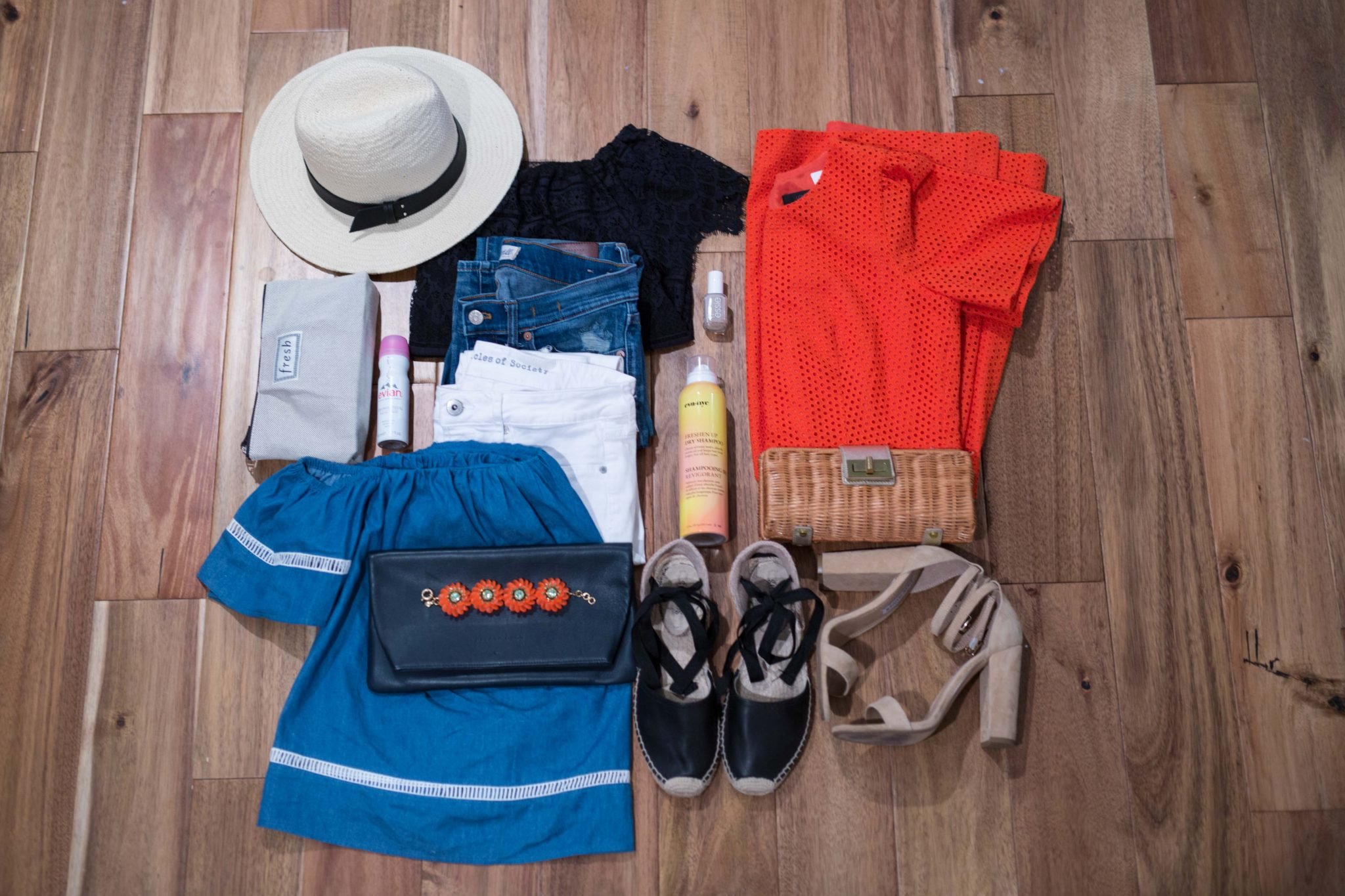 what to pack for a weekend away on allweareblog.com