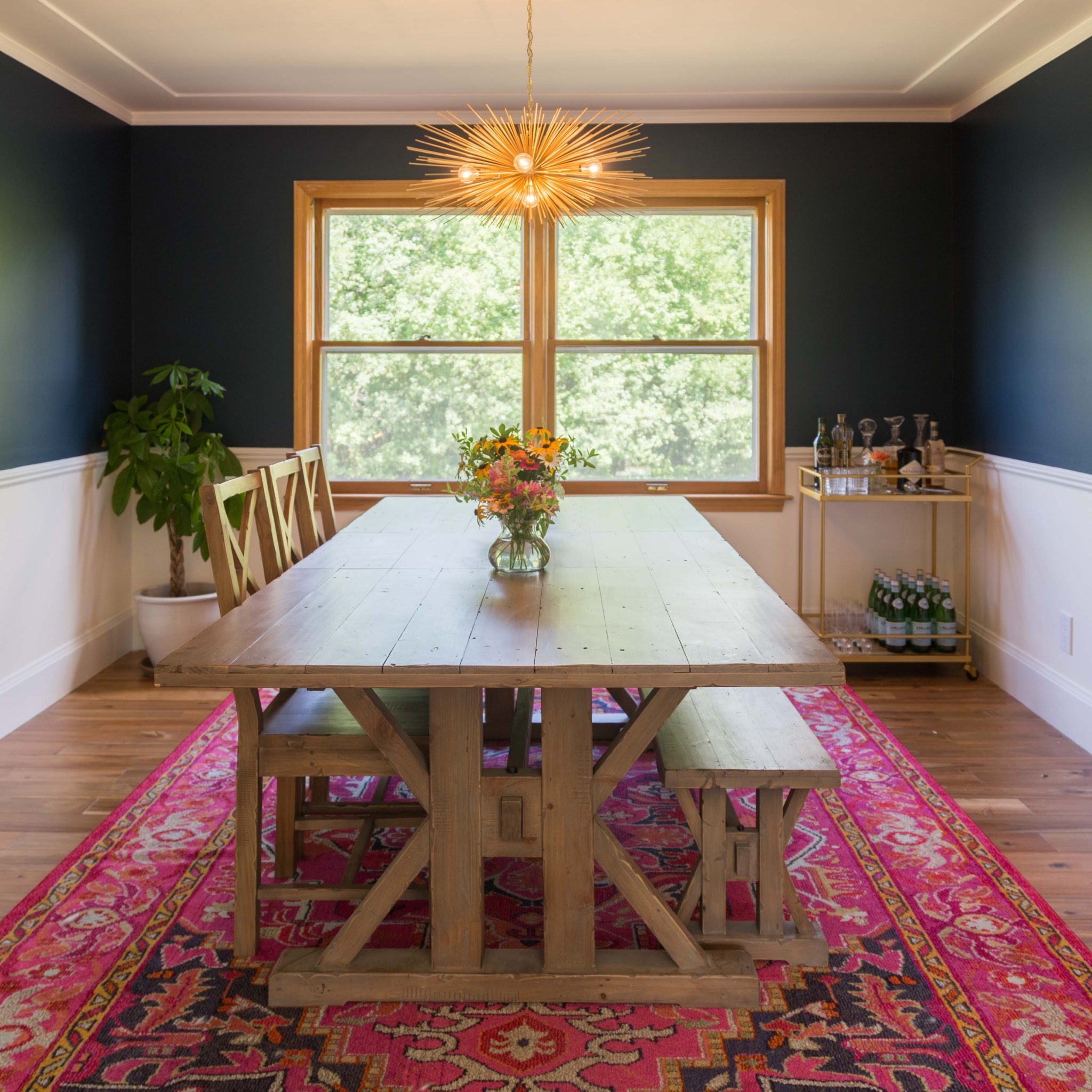 our new dining room on allweareblog.com