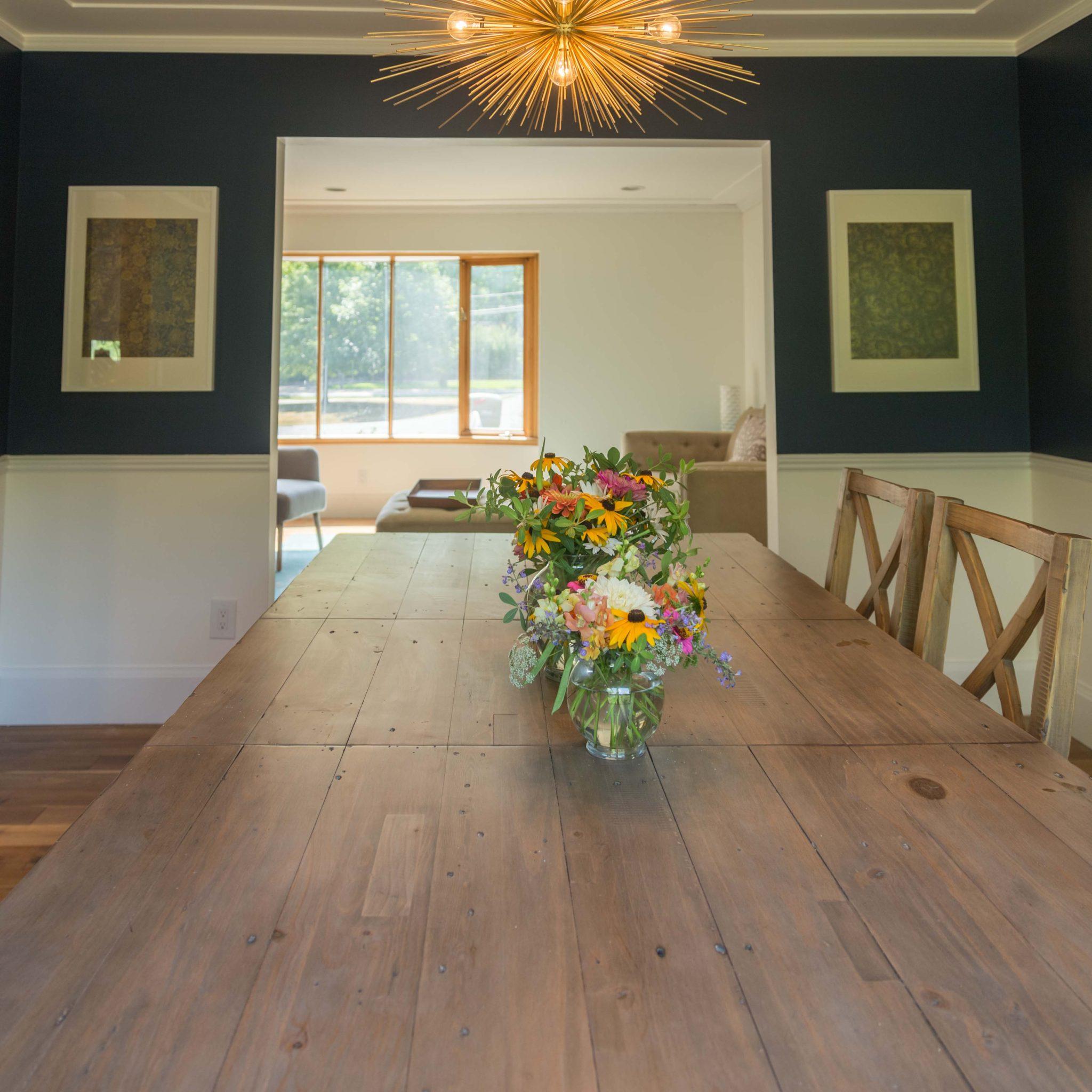 our new dining room on allweareblog.com
