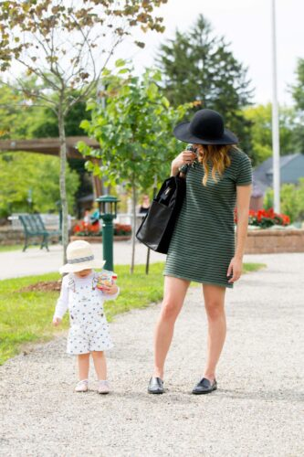 transition your wardrobe to fall and my anne york diaper bag on allweareblog.com