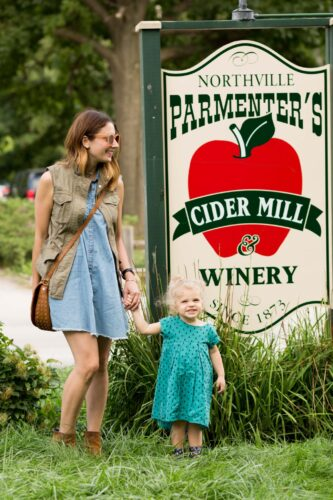 our visit to parmenters cider mill in northville michigan on allweareblog.com