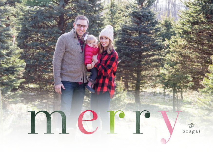 a roundup of our holiday cards with minted on allweareblog.com | christmas card ideas and inspiration