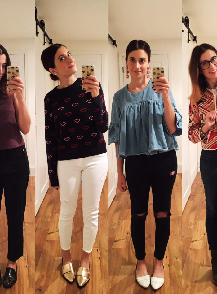 weekday style on allweareblog.com   what i wore to work this week