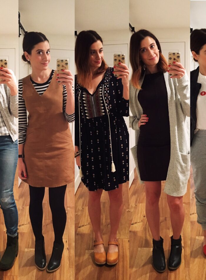what i wore to work this week   everyday style on allweareblog.com