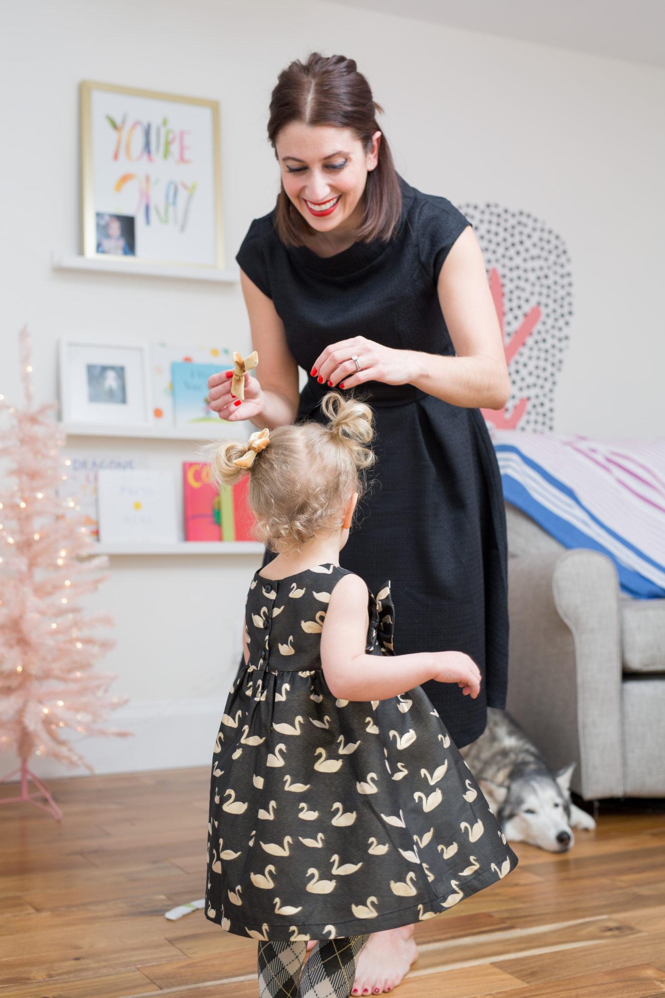 our family christmas photos on allweareblog.com | shabby apple holiday dress