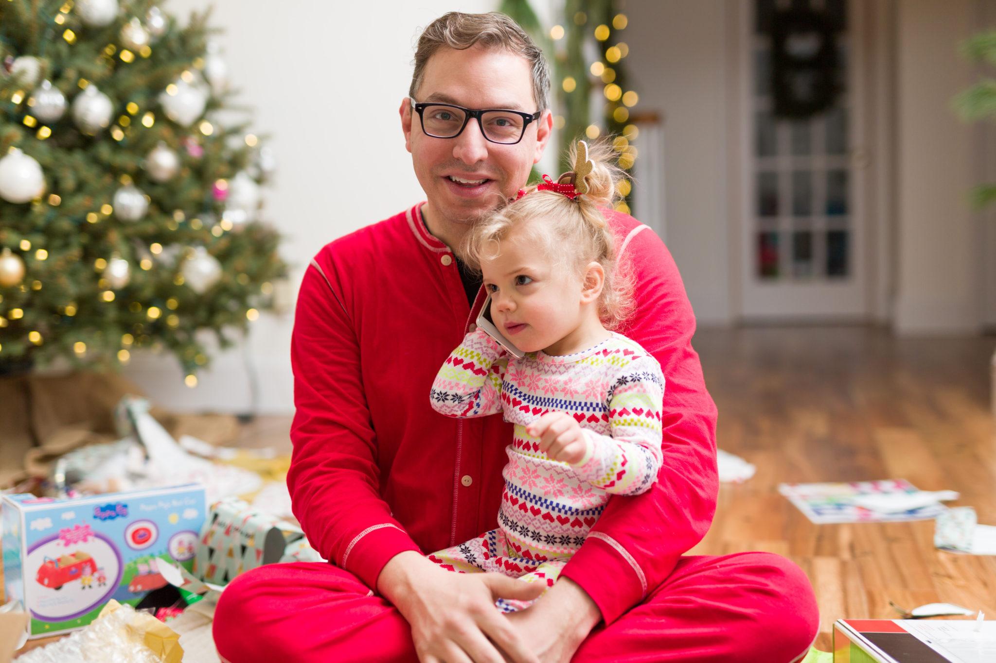 our family christmas photos on allweareblog.com