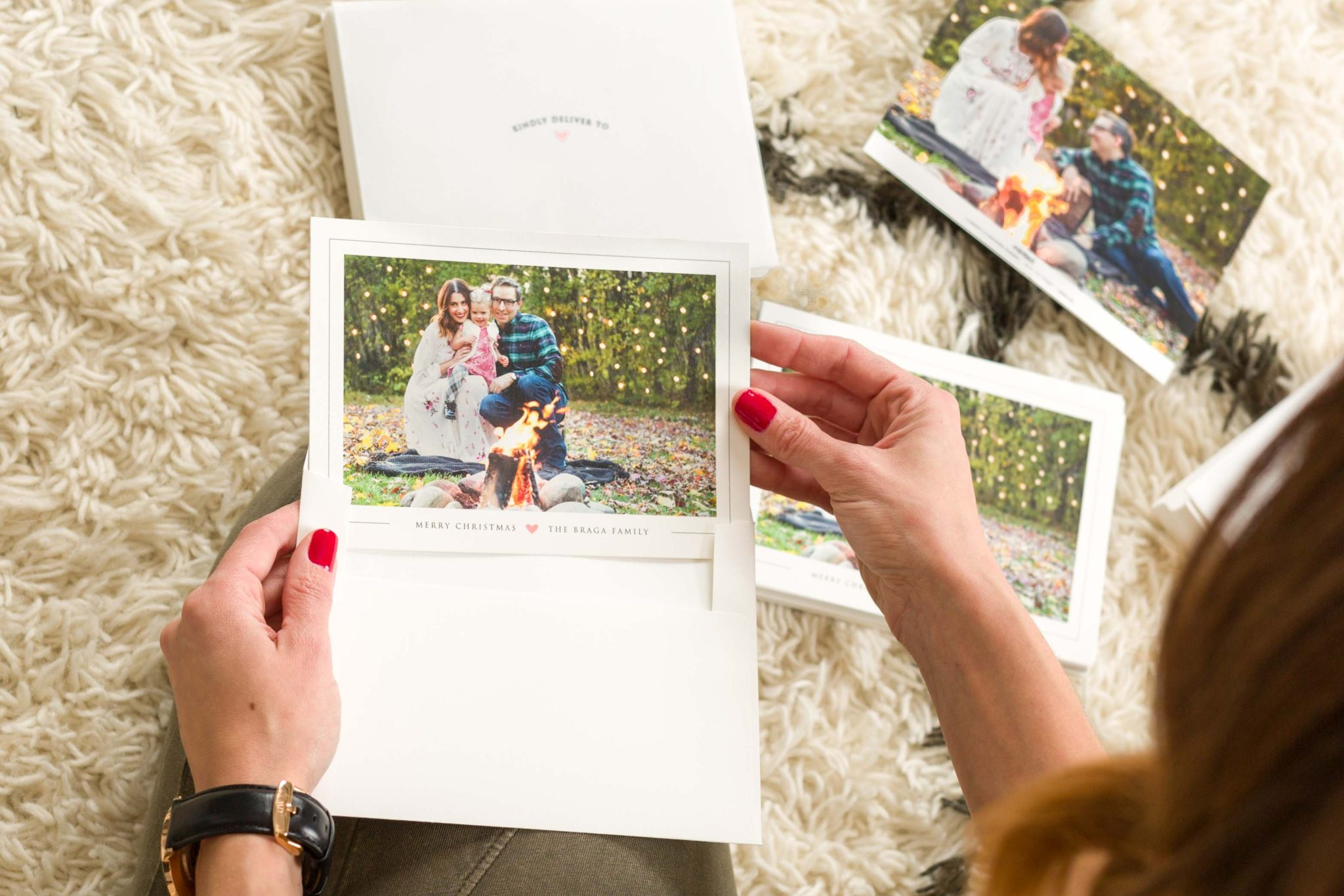family christmas cards with minted on allweareblog.com
