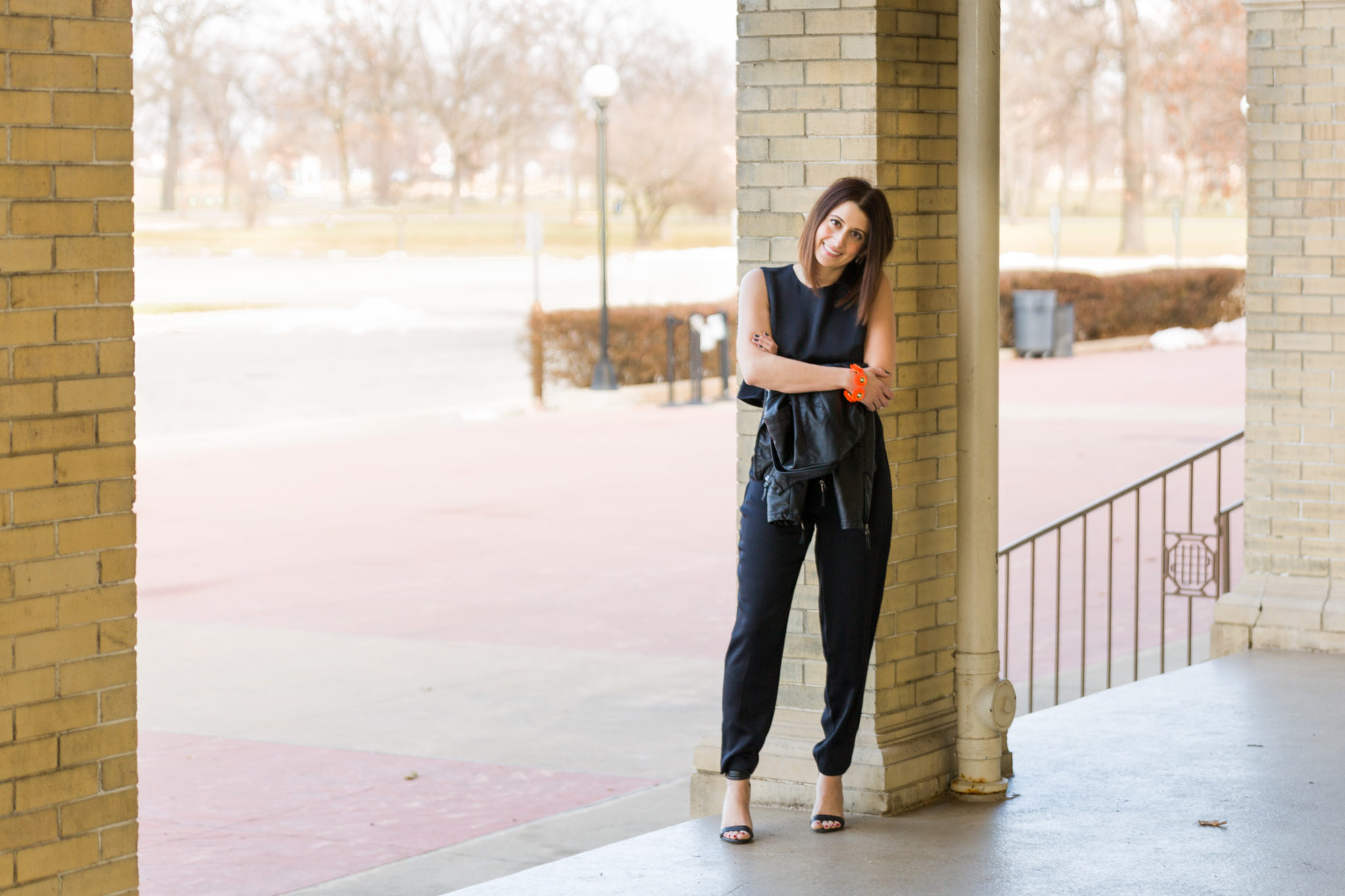 h&m jumpsuit | how to style a jumpsuit in your 30's | my resolution to wear more jumpsuits in 2016 on allweareblog.com | fashion new years resolutions