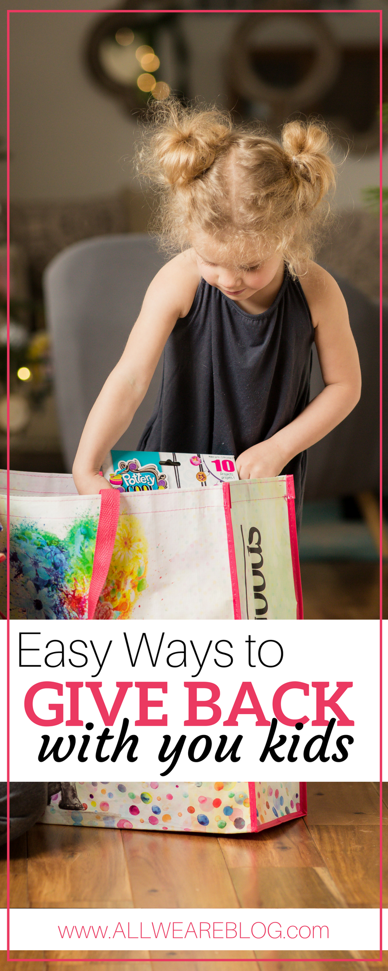 easy ways to give back with your kids