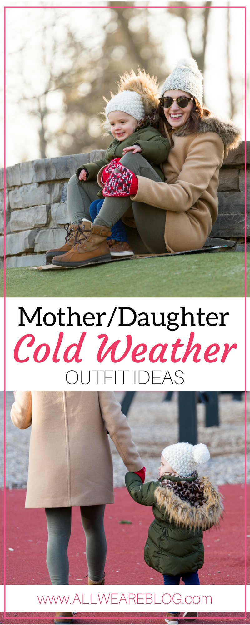 mother and daughter cold weather outfit ideas