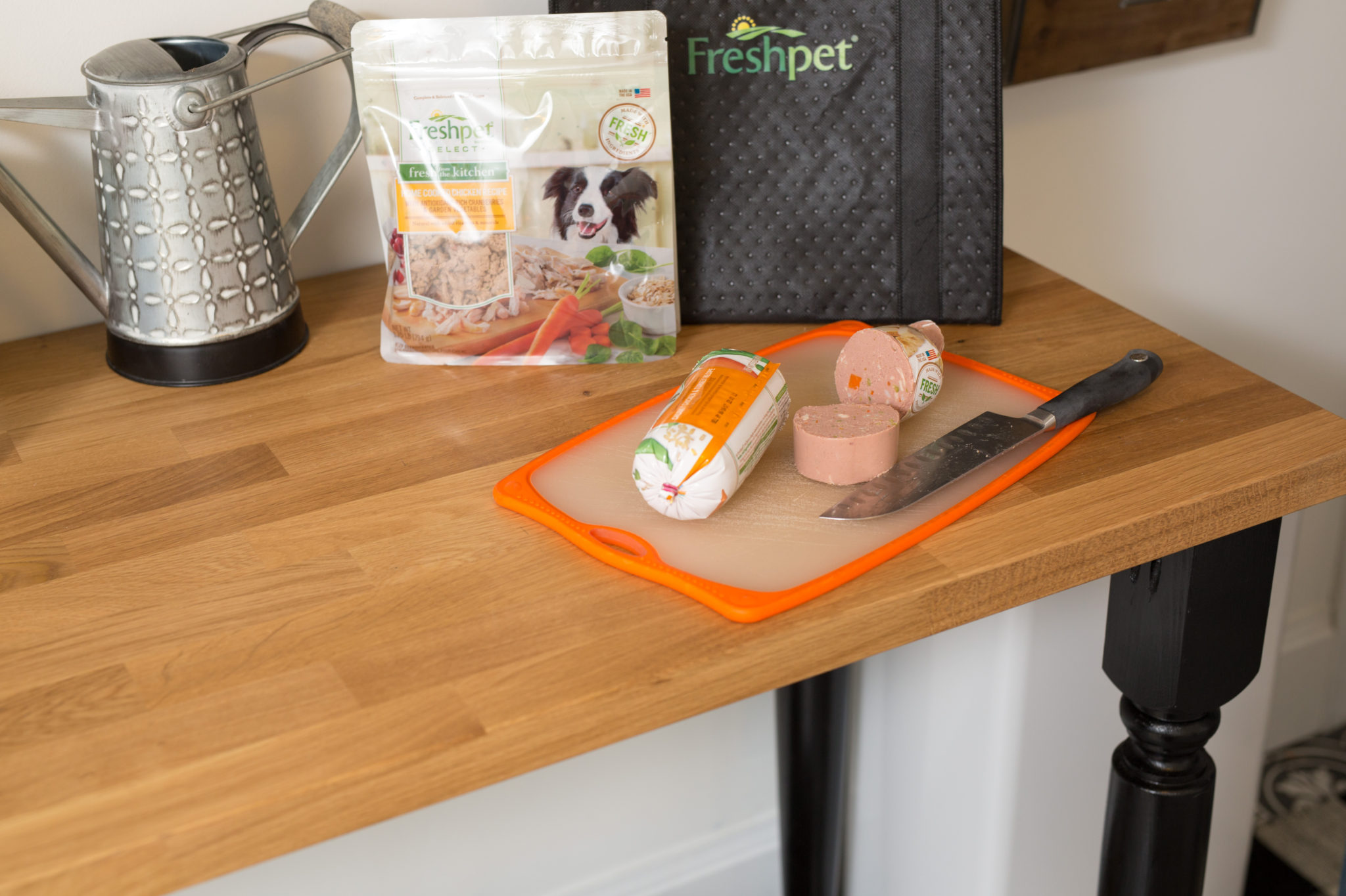 fresh dog food with freshpet on allweareblog.com | our review of freshpet dog food