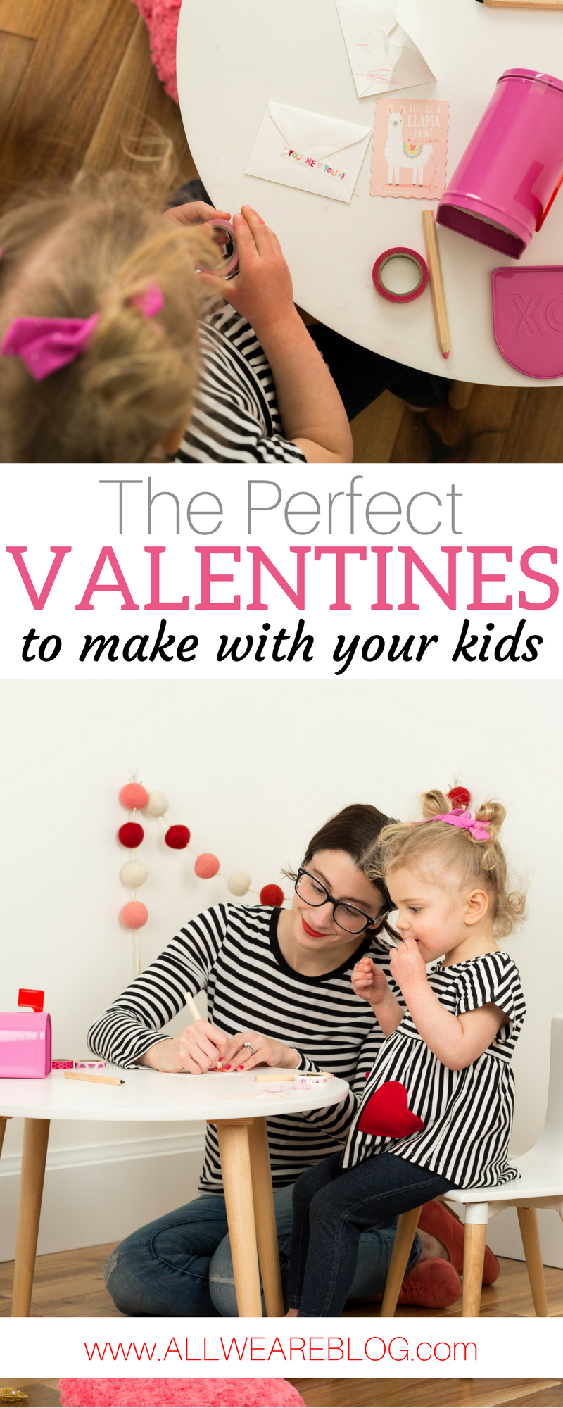 the perfect valentine's to make with your kids