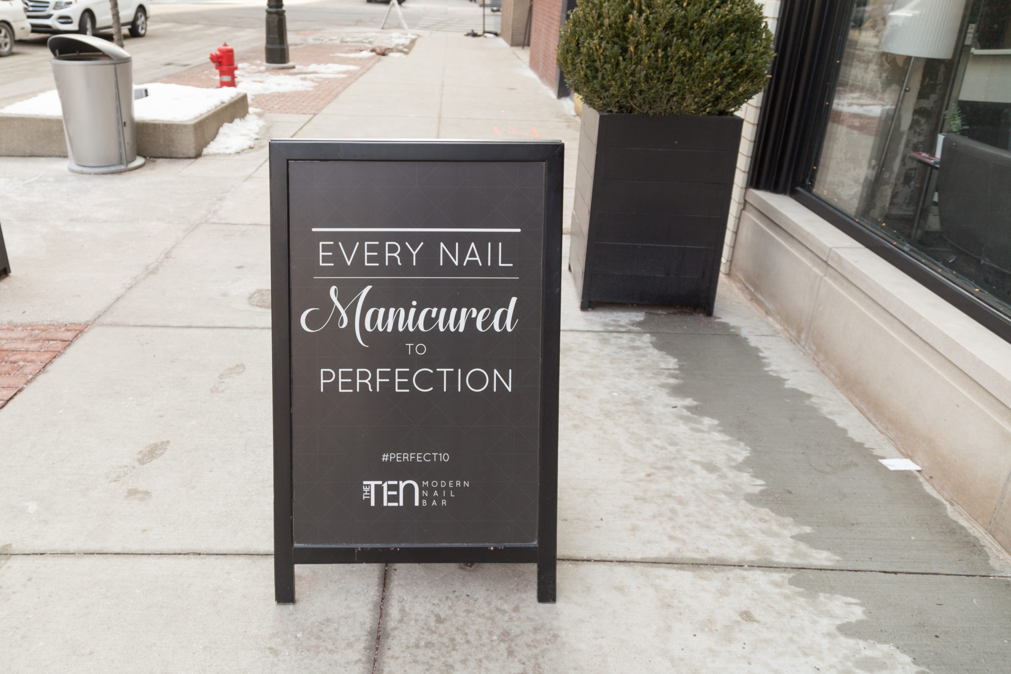 The Ten Nail Bar in Detroit | Detroit's first modern nail bar | The best place to get a manicure in Metro Detroit on allweareblog.com