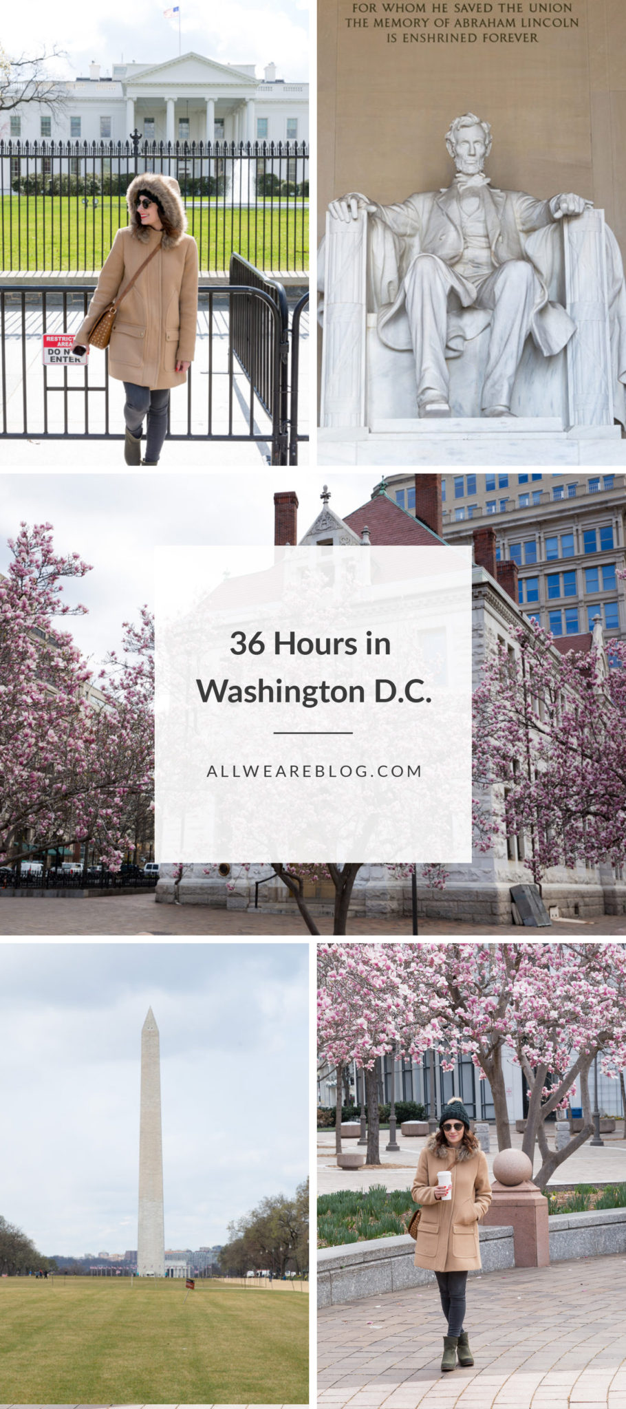 How to spend 36 hours in Washington DC | What to do in Washington DC | Washington DC Travel Guide || All We Are Blog