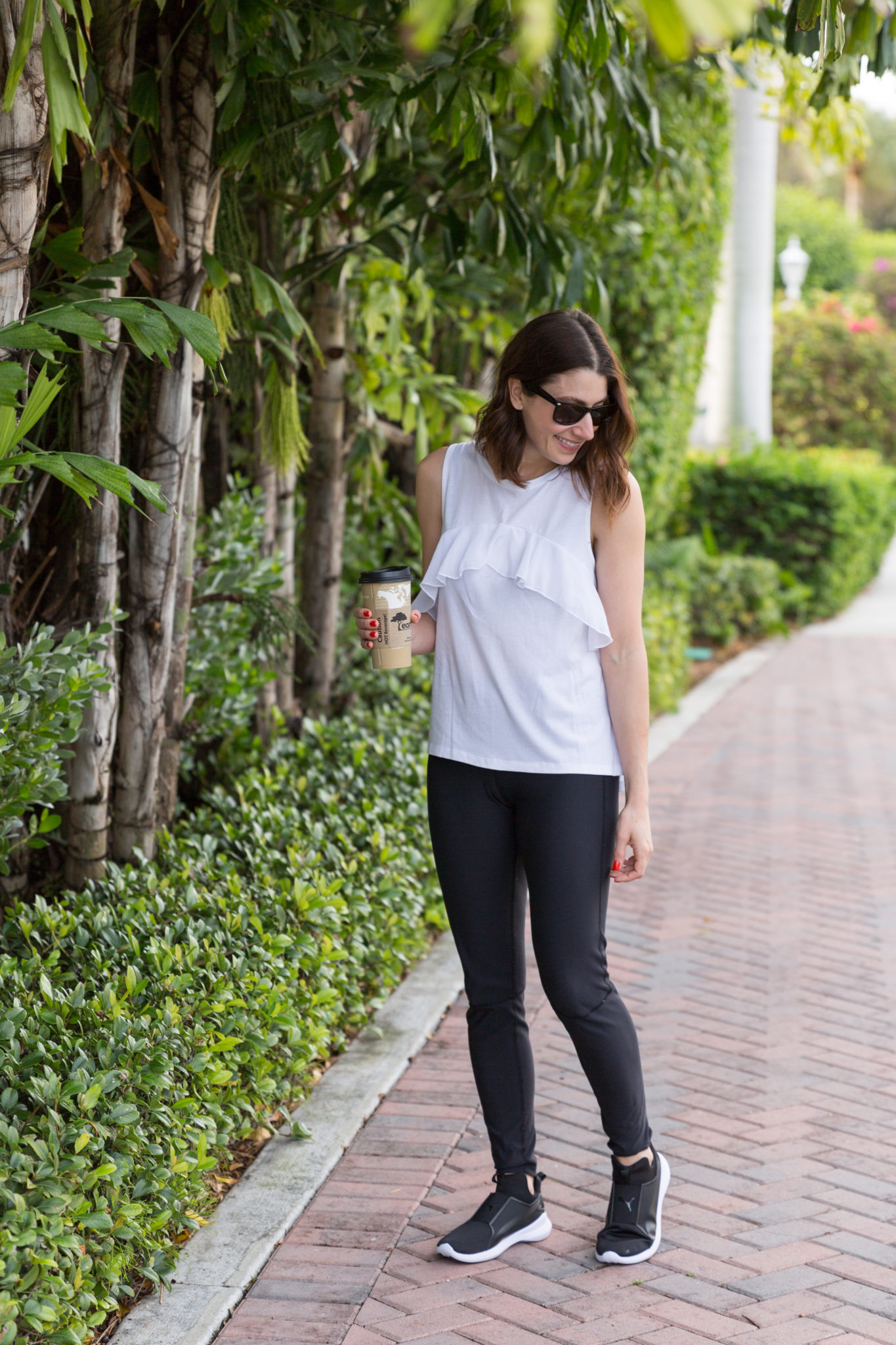 what to do and where to stay in delray beach florida | summer toddler style | summer style | beach style | west palm beach flordia | seagate hotel delray beach florida | family vacation with a toddler | my take on athleisure | how to style an athleisure outfit | puma rebel mid women's shoes on allweareblog.com