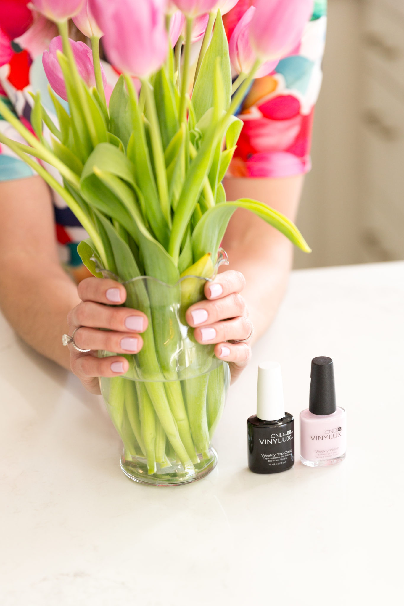 how to get a salon quality manicure at home | my tips for an at home manicure | cnd vinylux nail polish | shellac manicure at home on allweareblog.com