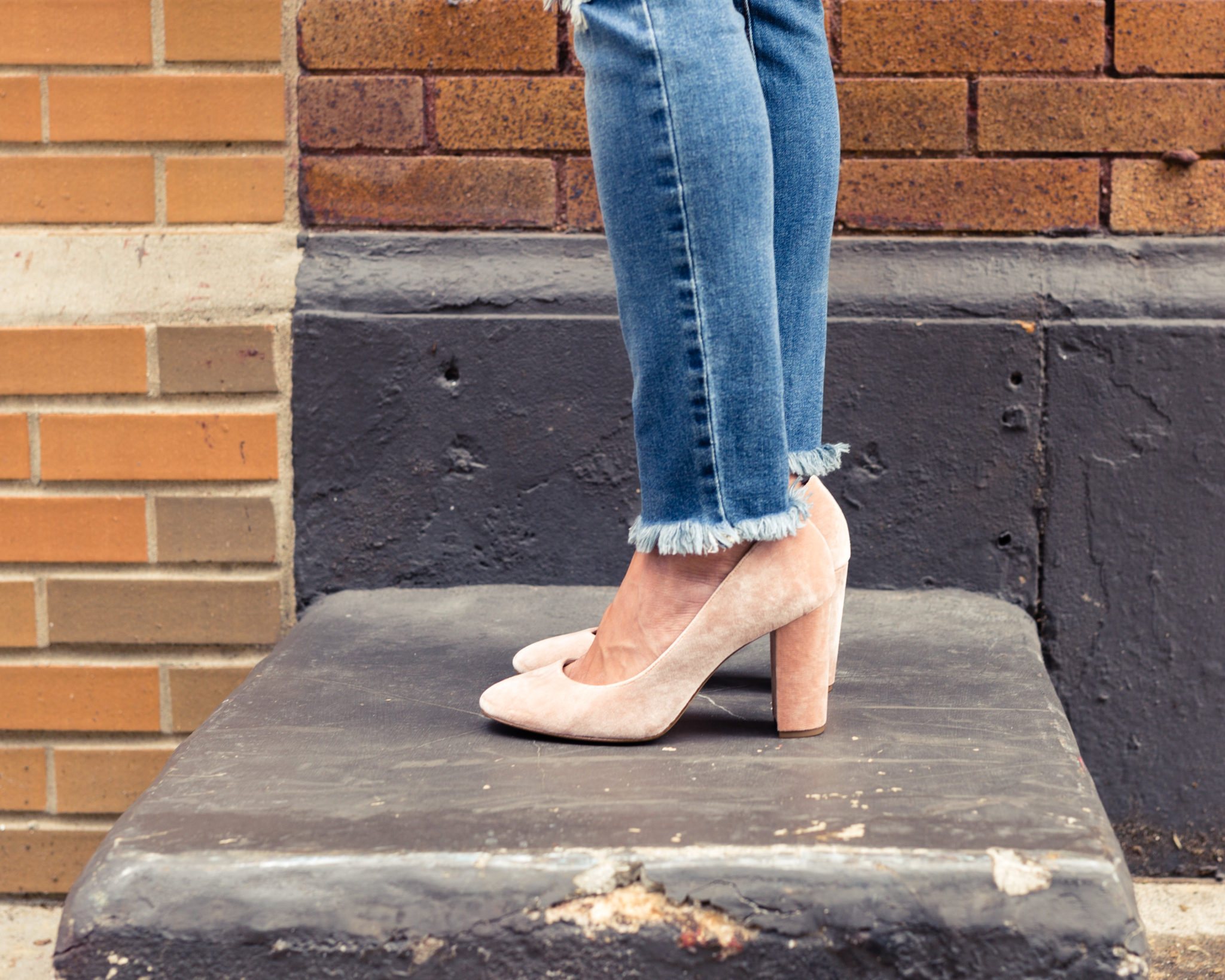 my favorite heels for fall | block heels | stacked heels | Louise et Cie Jianna Stacked Heel Pump | the best shoes from the Nordstrom Anniversary Sale 2017 on allweareblog.com