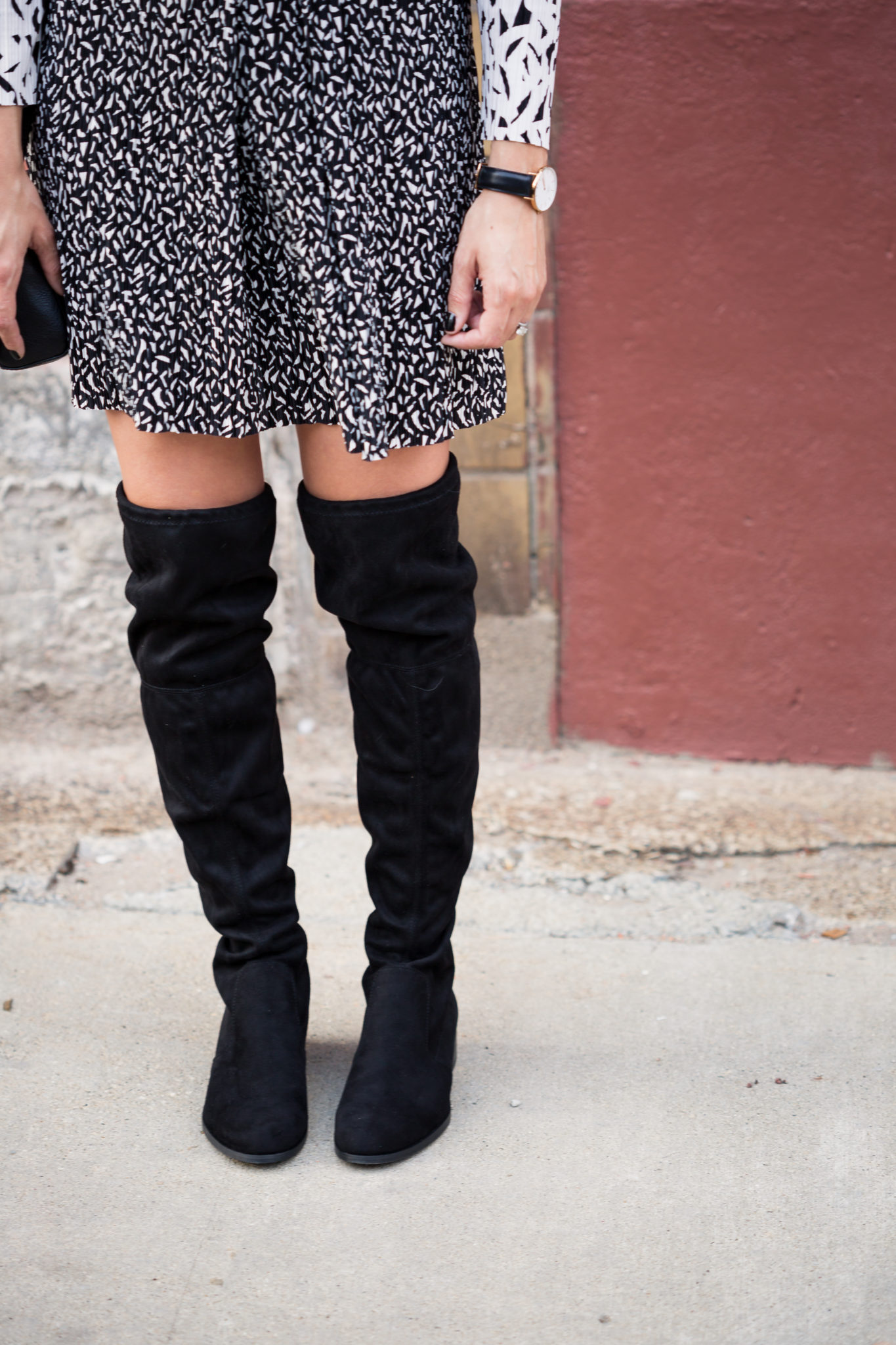 my favorite over the knee boots for fall on allweareblog.com