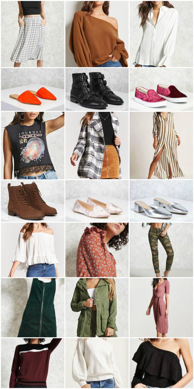 21 things I'm loving from forever21 on allweareblog.com