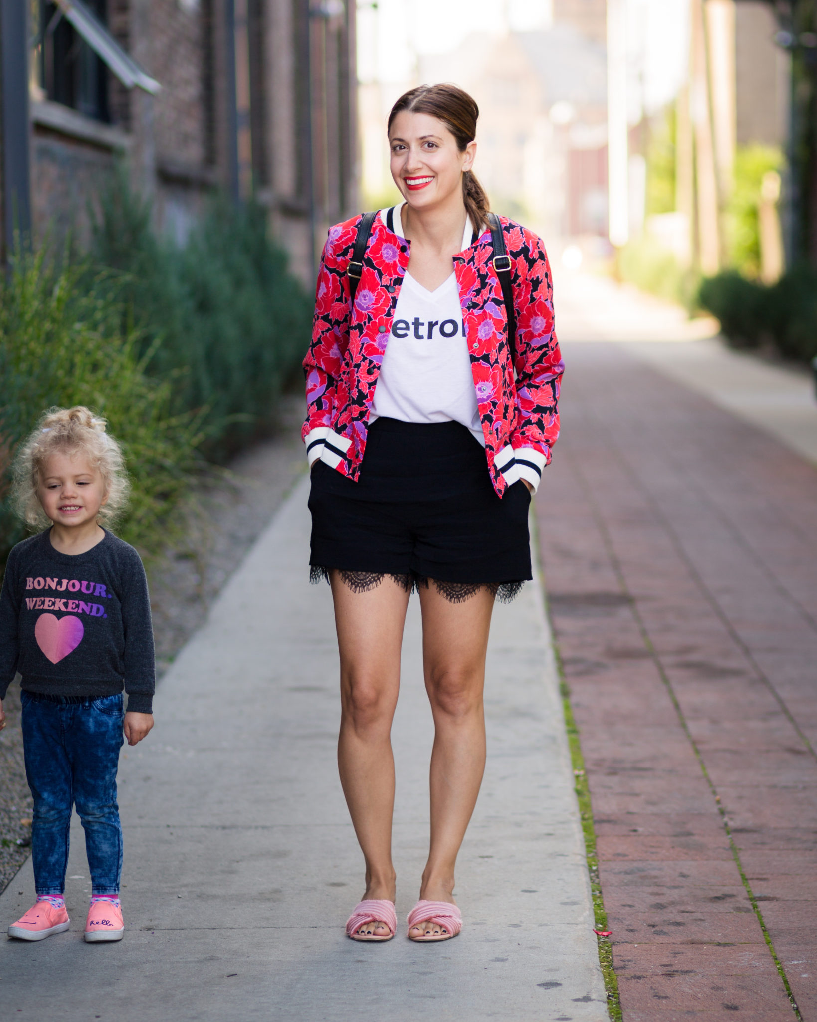 how to create a capsule wardrobe for you and your kids on allweareblog.com