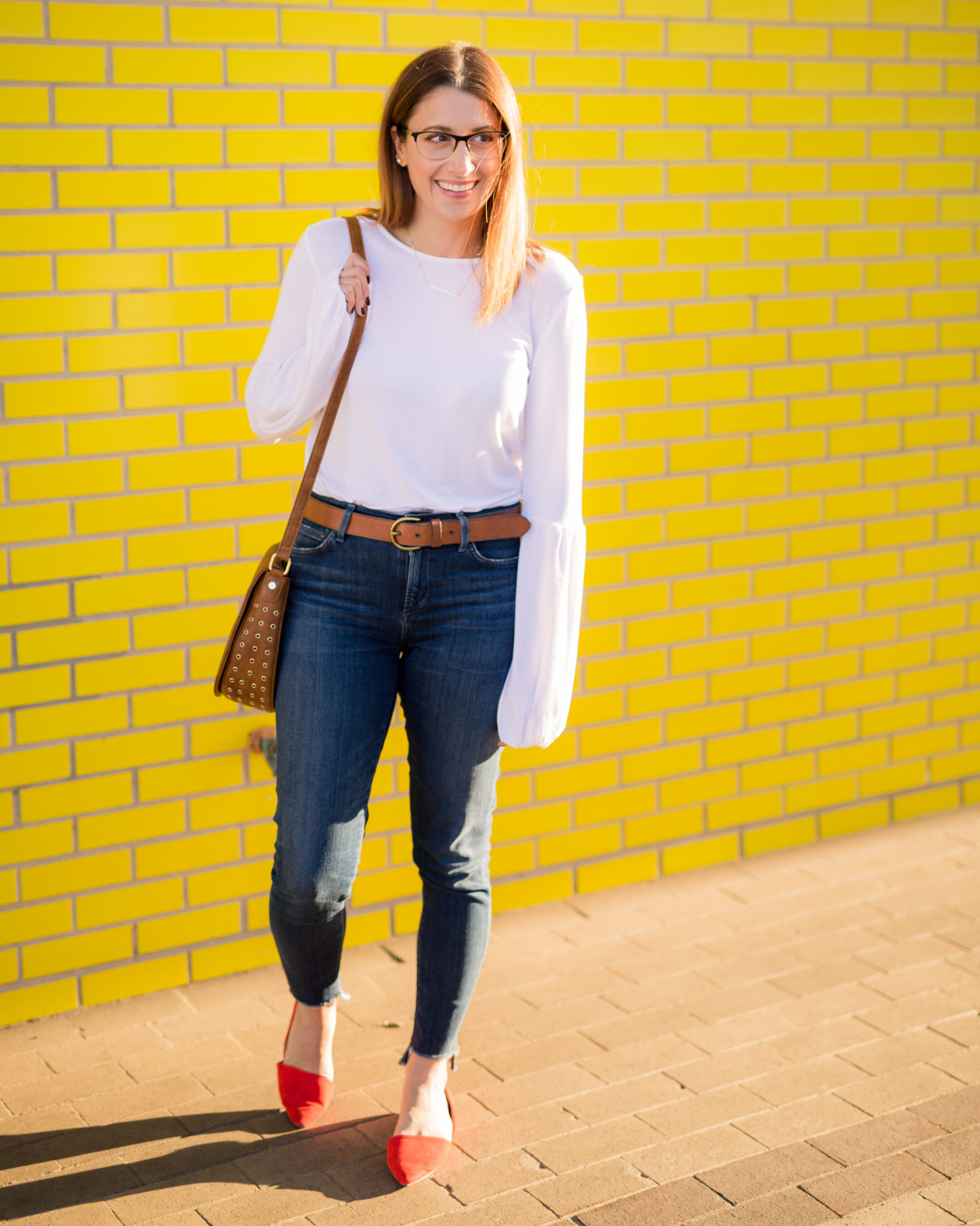 how to style a white tee and jeans | and upgrade on the white tee | my fall capsule wardrobe on allweareblog.com