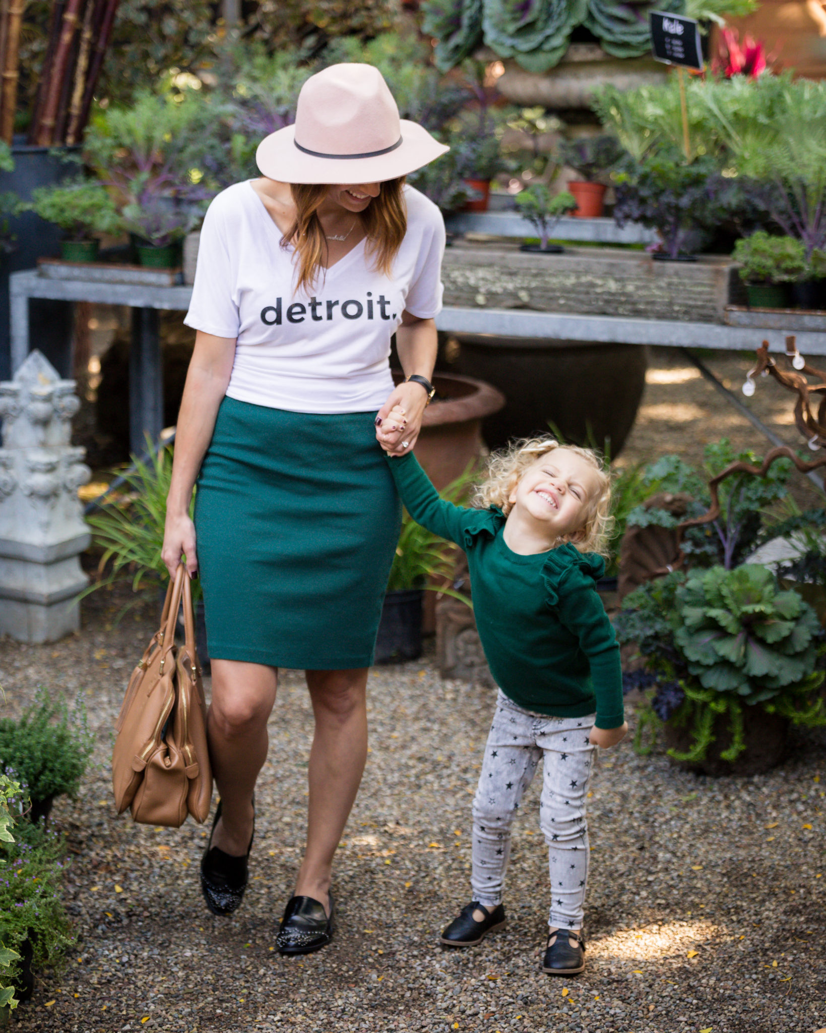 my fall capsule wardrobe on allweareblog.com | matching mommy and me looks