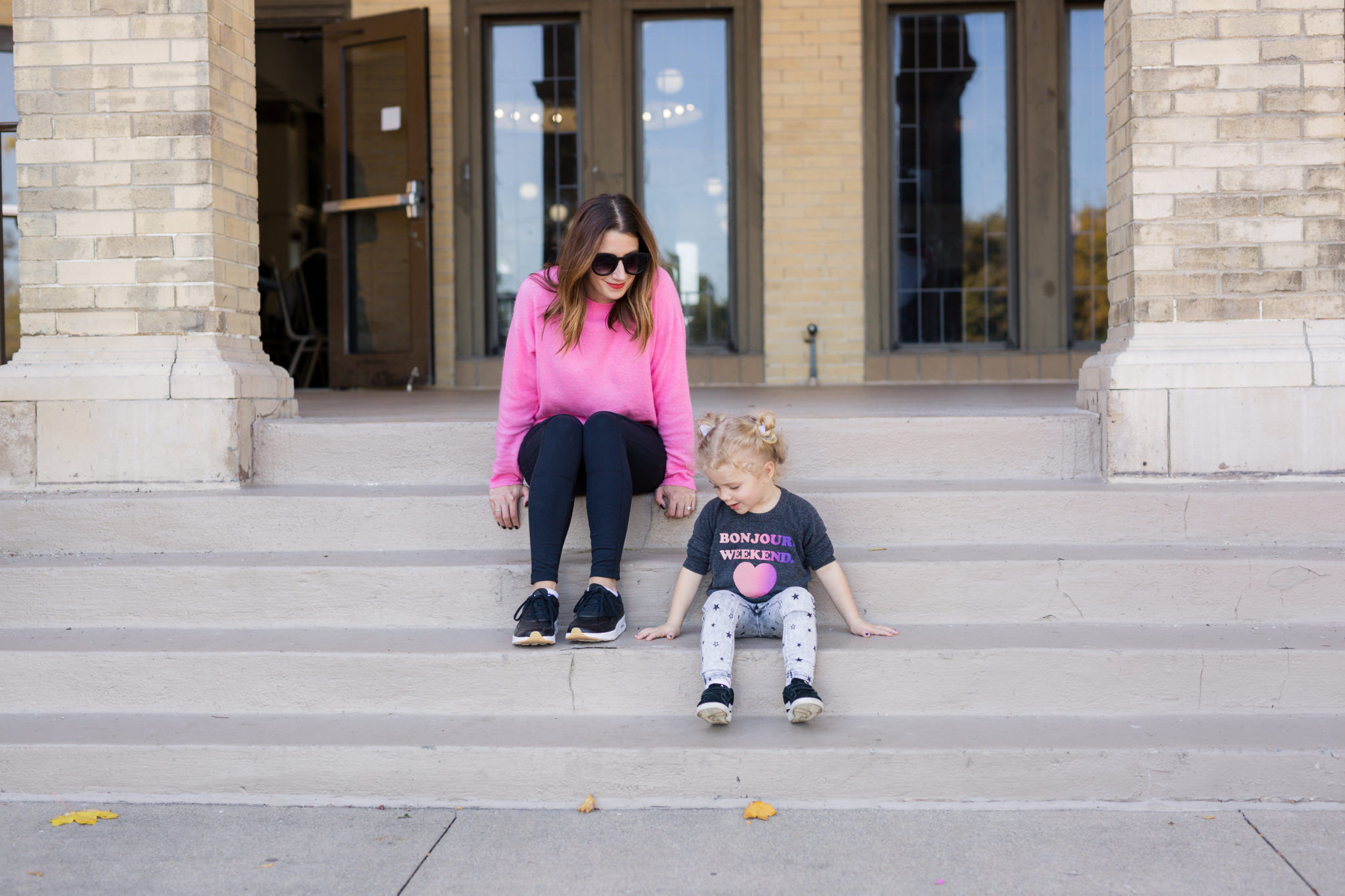 my favorite pink clothes for fall on allweareblog.com