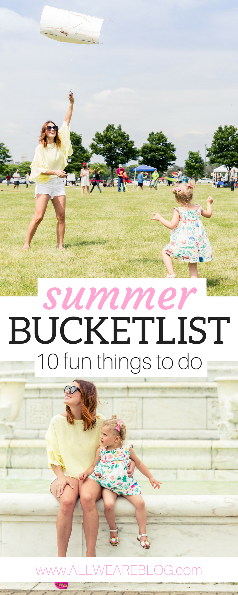 Summer Bucketlist - 10 fun things to do
