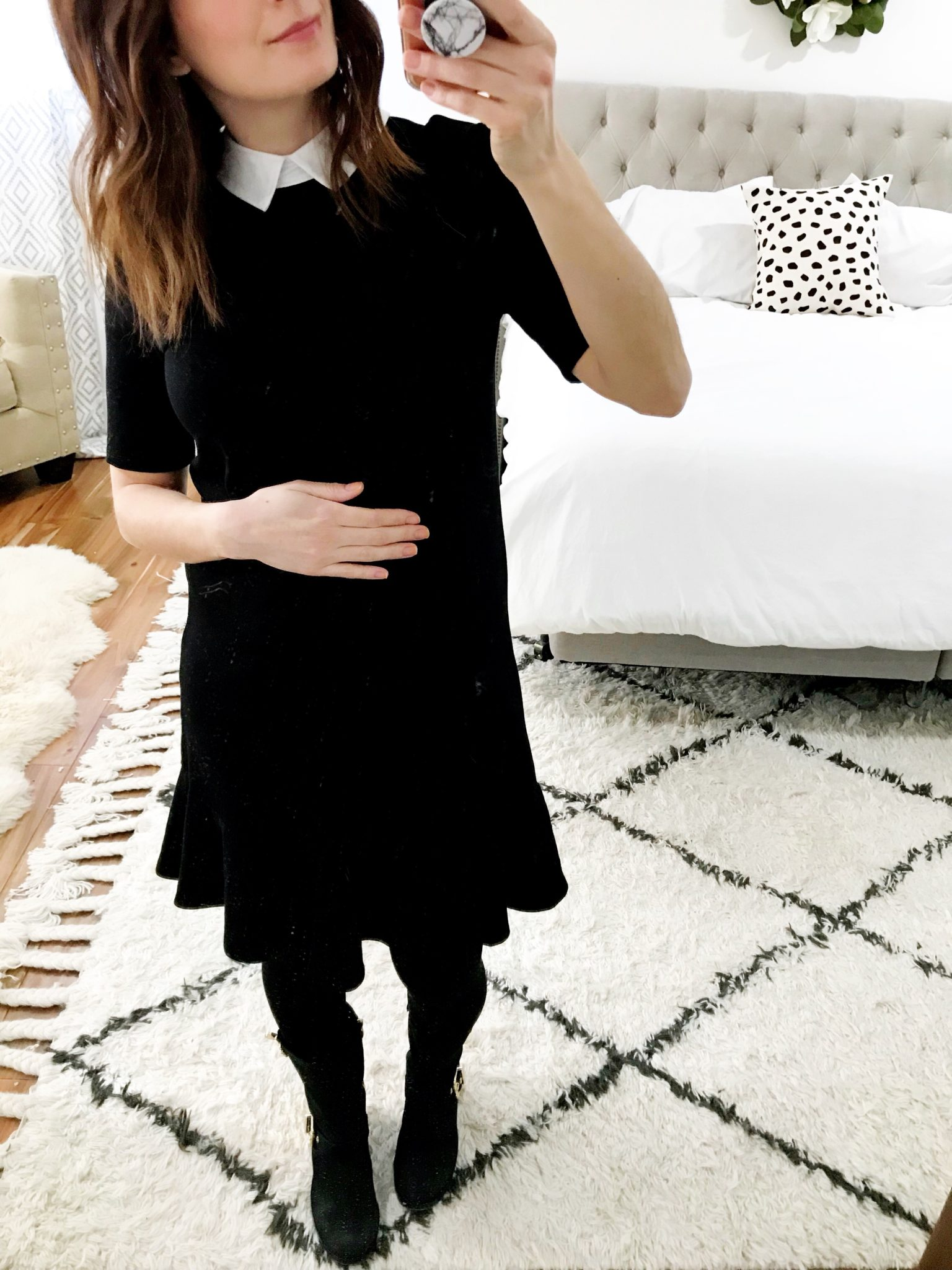 What I wore to work this week 23 weeks pregnant